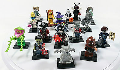 LEGO Minifigure Series 14 - Monsters (Complete series set of 16)