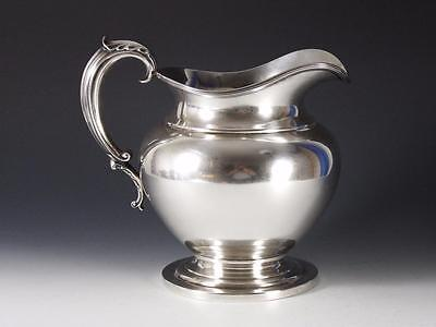 1890's STERLING SILVER WATER PITCHER BY GOODNOW & JENKS (BOSTON) 33.2 OZ