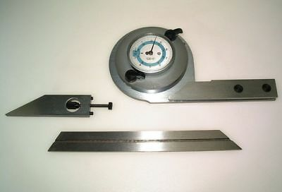 Universal Engineers Bevel Protractor  (Ref: 6356601) From Chronos