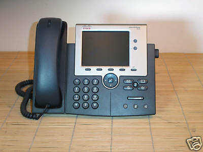 Cisco CP-7945G Unified IP Color Phone Farb LCD VoIP-Telefon