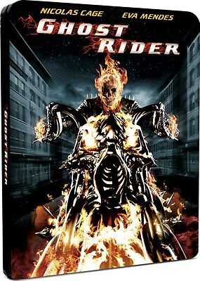 Ghost Rider Blu Ray Steelbook New And Sealed - Marvel - Nicolas Cage - Uk Issue