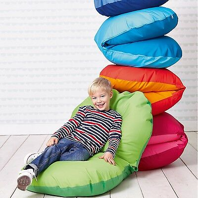 Oyster Bean Bag Seat Beanbag Pod Children's Kids 2 Tone Water Resistant Fabric