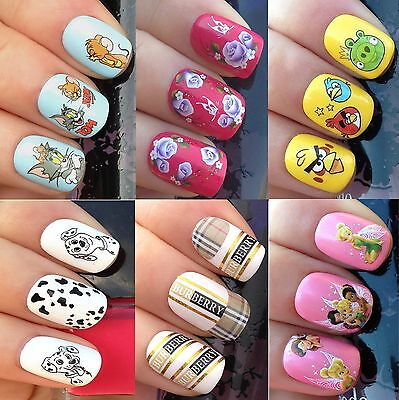 Nail Art Stickers Water Transfers Decals Tom Jerry Dalmatian Puppy