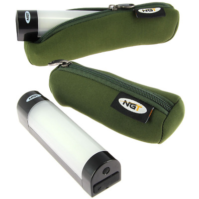NGT Carp Fishing Magnetic Bivvy Light With Power Bank Function Phone Small Large
