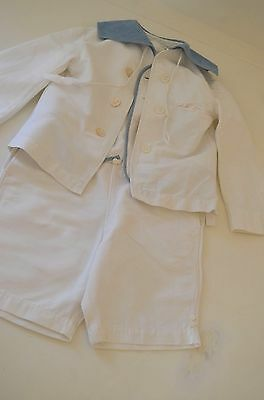 "Darling Vintage Boys 3 Piece Sailor Suit ""Manhattan"" Ss379"