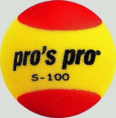 Palle Tennis Pro's Pro S-100 Yellow/red