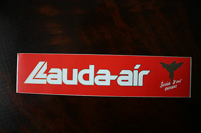 Official Airline Sticker Aufkleber Lauda-Air Service Is Our Success