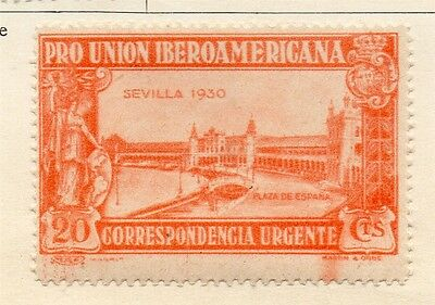 Spain 1930 Early Issue Fine Mint Hinged 20c. 128087