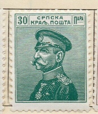 Serbia 1911 Early Issue Fine Mint Hinged 30p. 128168