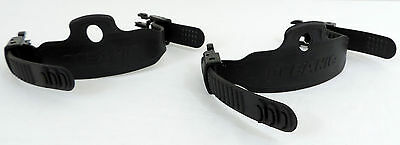 Oceanic Replacement Scuba Divers Fin Straps with Buckles PAIR EUC
