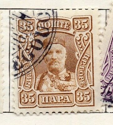 Montenegro 1907 Early Issue Fine Used 35p. 128220