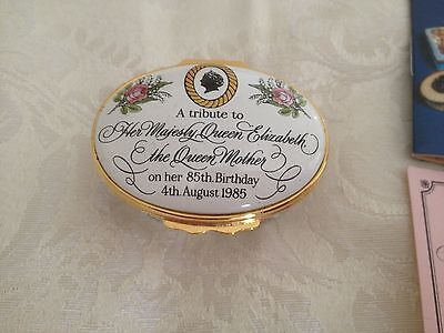 Vintage Halcyon Days Enamel Pill Box 7