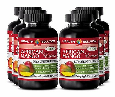 Health supplements - AFRICAN MANGO EXTRACT 1000 FAT BURNER  Weight management 6B