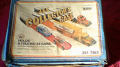 Zee Toys - Zee Collector's Carry Case - For Trucks & Cars - Well Used !!