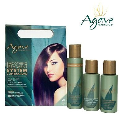 Bio Ionic Agave Smoothing Treatment System Pack - 2 Applications