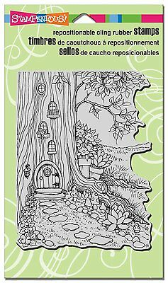 Stampendous *Gnome Home* Cling Mounted Rubber Stamp