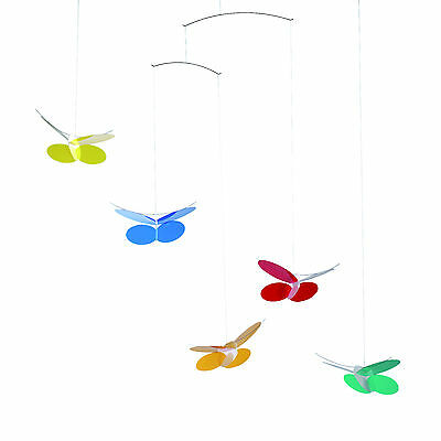 Flensted Butterflies Butterfly Hanging Baby Mobile