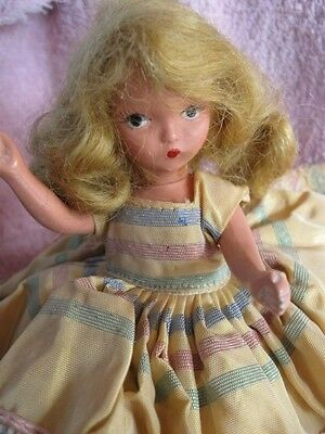 """Vintage Bisque STORYBOOK Doll~6"""" w/Full Outfits~Moveable Arms,Head and Legs!"""