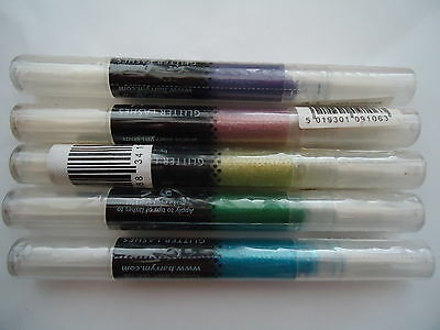 JOB LOT 5 x BARRY M glitter lashes mascara in purple blue and green only