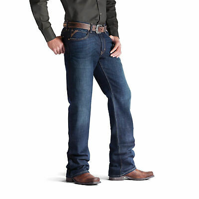 Ariat Men's M4 Roadhouse Low Rise Boot Cut Jeans 10008402