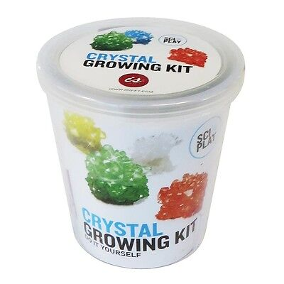 IS Gift Crystal Growing Kit - Children's Small Science Chemistry Experiment Set