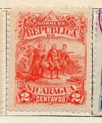 Nicaragua 1892 Early Issue Fine Mint Hinged 2c. 128398