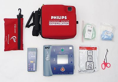 Philips Agilent Heartstart Fr2 Automated External Defib M3860A Unknown