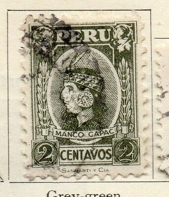Peru 1931 Early Issue Fine Used 2c. 128601