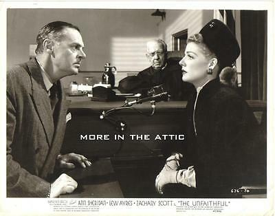 Ann Sheridan The Unfaithful Original Vintage Warner Brothers Still #3
