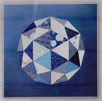 Globe  - fabulous modern pieced quilt PATTERN - Zen Chic