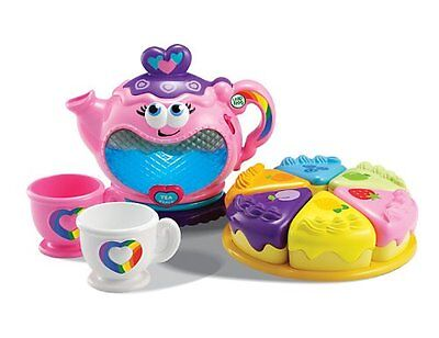 NEW TEA SET LeapFrog Musical Rainbow TOY Tea Party Play Set Girls Gift BRAND NEW