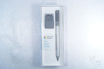 Microsoft Surface Pen for Surface Pro 4 (Silver) with Tip Kit