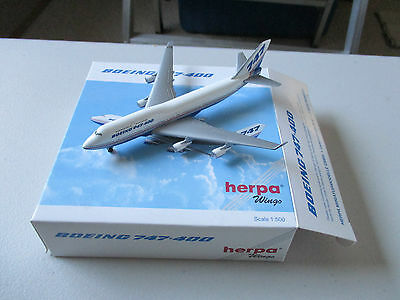 Herpa Wings  500814 Boeing  747-400 4th Version Model #1