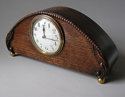 SMALL ANTIQUE FRENCH MANTLE CLOCK 8 Day Movement