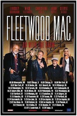 Fleetwood Mac 2014  CONCERT POSTER  USA / Canada   stevie