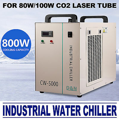 Thermolysis Industrial Water Chiller For 80/100w CO2 Glass Tube CW-5000DG AU