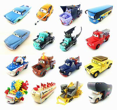 Mattel Disney Pixar Rare Characters Metal Toy Car 1:55 New In Stock