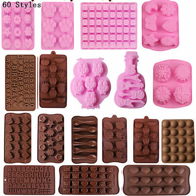 Diy Silicone Cake Decorating Moulds Candy Cookies Chocolate Baking Mold Tools