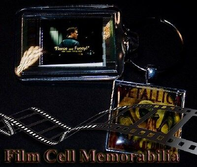 Metallica some kind of monster - 35mm Film Cell Movie KeyRing and Pendant Keyfob