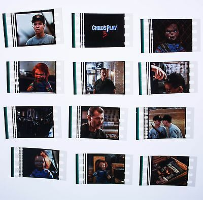 Childs Play 3 (Chucky)  - 12  pack - 35mm Film Cell Lot FREE POSTAGE