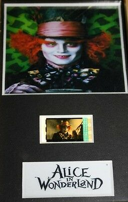 Alice In Wonderland - 6x4 Framed movie film cell display, Nice Gift
