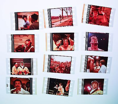 Rocky 3 - 12  pack - 35mm Film Cell Lot FREE POSTAGE