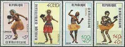 Timbres FOLKLORE Centrafrique 139/42 ** (2101)