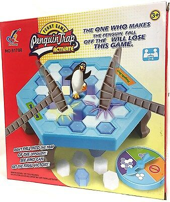 Penguin Trap Kids Early Education Game Family Interactive Educational Toys Gift