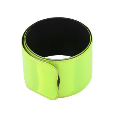 MagiDeal Reflective Strap Bracelet Wrist Ankle Arm Band Riding 30CM -Green