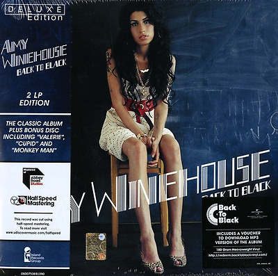 AMY WINEHOUSE - Back To Black (180g Deluxe Double Vinyl LP) (M/M) (Sealed)