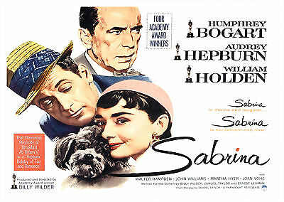 Sabrina (1954) - A1/A2 POSTER ***BUY ANY 2 AND GET 1 FREE OFFER***