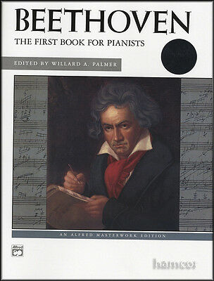 Beethoven The First Book for Pianists Easy Classical Piano Sheet Music Book & CD