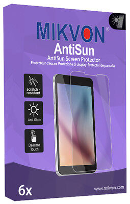 6x Mikvon AntiSun Screen Protector for GT08 Retail Package with accessories