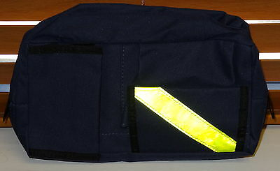 Navy Blue Emt Ems Paramedic Medical Technician Tool Pouch Fanny Pack & Belt New